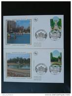 2 FDC  Jardins De France Garden Parc Floral 2006 - 2000-2009
