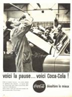 "PUB    "" COCA COLA  ""  1961  ( 24 ) - Affiches Publicitaires"