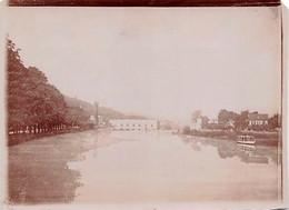 78 - BOUGIVAL - La Machine De MARLY - Photo Originale 1898 - Lieux