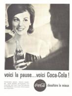 "PUB    "" COCA COLA  ""  1961  ( 25 ) - Affiches Publicitaires"