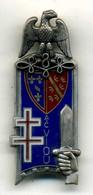 Insigne 127é Promo ADchef VIOU, ENSOA ABC-hussard-chasseur___balme - Army