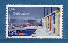 ⭐ Saint Pierre Et Miquelon - YT N° 940 ** - Neuf Sans Charnière - 2009 ⭐ - Unused Stamps