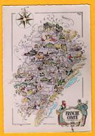 Franche Comté    Edt   Jean-Pierre   N° 1865 - Maps