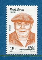 ⭐ Saint Pierre Et Miquelon - YT N° 945 ** - Neuf Sans Charnière - 2009 ⭐ - Unused Stamps