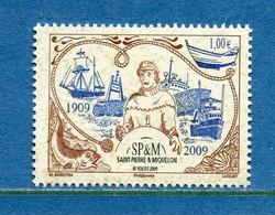⭐ Saint Pierre Et Miquelon - YT N° 956 ** - Neuf Sans Charnière - 2009 ⭐ - Unused Stamps