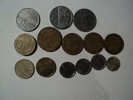 PARAGUAY. LOT DE 14 PIECES DE MONNAIE DIFFERENTES. 1975 / 1998 - Paraguay