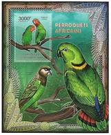 Central Africa - MNH ** 2012 :     Stamp : Red-headed Lovebird   - Agapornis Pullarius - Papegaaien, Parkieten