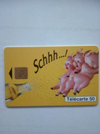 FRANCE PRIVEE EN1446 SCHWEPPES COCHON PIG 50U NEUVE MINT - 50 Unità