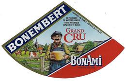 ETIQU  BONEMBERT Grand Cru BON AMI 35 G - Cheese