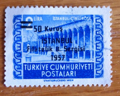 1957 Used/hinged Stamp From Turkey-Philatelic Exhibition No Z-230 - Unclassified