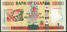 UGANDA P45a 10000 Or 10.000 SHILINGI 2005 #EW      UNC. - Uganda