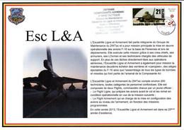 """Souvenir De """"DEFENSE COMPOSANTE AERIENNE 2 WING TACTIQUE"""" Base J. OFFENBERG à Florennes - Cartas"""