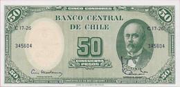 50 PESOS CHILE UNC - Chile