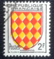 République Française - G1/20 - (°)used - 1954 - Michel 1029 - Provinciewapens - Usados