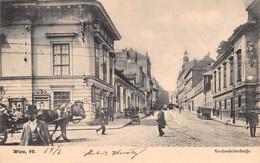 "M012340 ""WIEN-LERCHENFELDERSTRASSE""ANIMATA-VERA FOTO-CART  SPED 1904 - Sin Clasificación"
