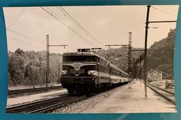 Train SNCF Capitole Paris Toulouse- Photo Locomotive BB 9200- France Massif Central Limousin Corrèze 19 Lot 46 Gare SO - Trains