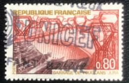 République Française - G1/21 - (°)used - 1969 - Michel 1652 - Stuwdam Van Vouglans - Usados