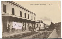 AIGUES MORTES La Gare ( Train) - Aigues-Mortes