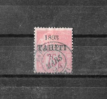 COLONIES FRANCAISES - TAHITI - N° 29 - OBLITERE - Tahiti