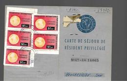 Fiscal  Fiscaux  REFUGIES ESPAGNOLS - Revenue Stamps