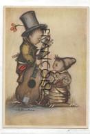 Enfants Musiciens. Guitare. Signée BUKAC. Coloprint BUKA 8232 - Altre Illustrazioni