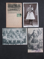 Lot Of 4 Postcards HELLAS - GREECE - GRÈCE - Military, Soldiers - Grèce