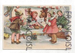 Enfants, Marché De Noël. Coloprint 7862 - Non Classificati