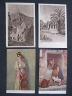 Lot Of 4 Postcards HELLAS - GREECE - GRÈCE - ATHENS - ATHÈNES - TYPES - Grèce