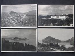 Lot Of 4 Postcards HELLAS - GREECE - GRÈCE - ATHENS - ATHÈNES, éditeur Félix RAGNO, Opticien - N°4 - Grèce