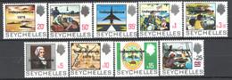 Seychelles 1976 Y.T.354A/60 **/MNH VF - Seychelles (1976-...)