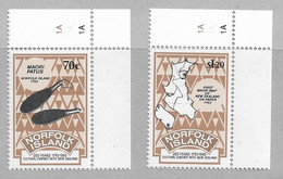R4 - NORFOLK 545/546**MNH De 1993 - Assommoir De Pierre De 1793 - Carte De Navigation De 1793. - Isla Norfolk