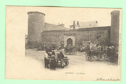 H611 - GANNAT - La Prison - Circulée 1903 - Otros Municipios