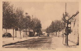 02 Braine, Faubourg Saint Remy, Pompe Essence - Altri Comuni