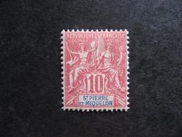 Saint Pierre Et Miquelon:  TB N° 73, Neuf X . - Unused Stamps