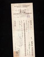 """ROMANS (Drôme) -Lettre De Change Illustrée 1925 - Etablissements Des Chaussures """"JACQUEMART"""" - ATTUYER Frs & MAISONNEUVE - Letras De Cambio"""