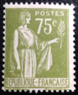 N° 284A  NEUF ** SANS CHARNIÈRE ( LOT:132 ) - 1932-39 Paz