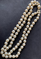 Richelieu Vintage Faux Pearl Ketting - Grote Witte Parels - Necklaces/Chains