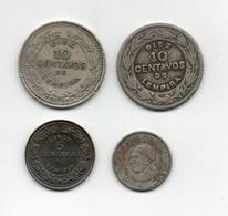 Honduras - Anni Vari - Lotto 4 Monete - Vedi Foto - (FDC28953) - Honduras
