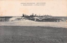 Afrique Occidentale - Côte-d'Ivoire - GRAND-BASSAM - Le Warph Et La Barre - Bateau, Paquebot - Collection L. Météyer - Ivoorkust
