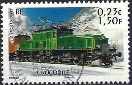 France 2001 - Mi 3547 - YT 3407 ( Rail Legend : Train Crocodile ) - Usati