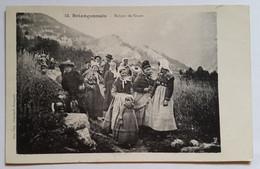 Carte Postale Briançonnais Retour De Noces Folklore 1916 - Otros Municipios