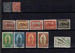 51 TIMBRES  Du  CONGO Et Du MOYEN-CONGO - Collections (without Album)