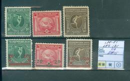 179-181+184-186    Xx Côte 29€ - Non Classés