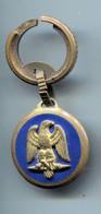 Porte-clefs Ancien Aigle Napoléonien Marqué Drago Au Verso - Key-rings