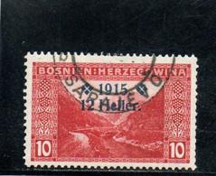 BOSNIE-HERZEGOVINE 1914-5 O - Bosnien-Herzegowina