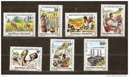 Rwanda Ruanda 1981 OBCn° 1087-93 *** MNH  Cote 5,50 Euro - 1980-89: Mint/hinged
