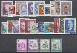 1973**  Oostenrijk - Autriche - Austria  (sans Charn., MNH, Postfrish) Complete ) Mi1410/1436 (27v) - Volledige Jaargang