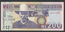 NAMIBIA. N$ 200.  2001. Pick 10b. SIGN.3. UNC / NEUF - Namibia