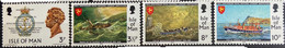 Isle Of Man MNH 1974 - 150 Years Of The Royal National Life, Ships - Isla De Man