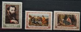 CCCP/URSS/RUSSIE/RUSSIA/ZSRR 1956** MI.1826-28** ,ZAG.1886-88,YVERT... - Unused Stamps
